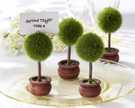 classic topiary favors