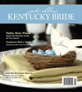 Kentucky Bride magazine Spring 2010