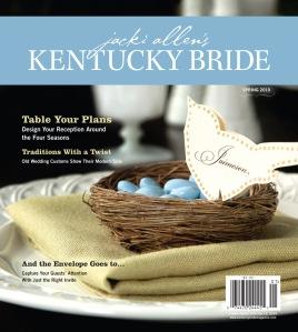 Kentucky Bride magazine Spring 2010